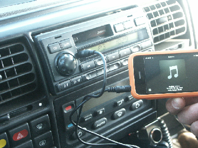 Iphone and rover radio