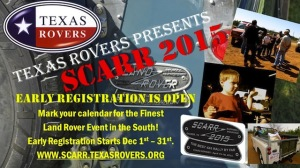 SCARR 2015 coming soon